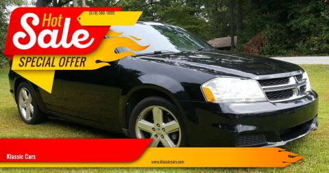 2013 Dodge Avenger for sale at Klassic Cars in Lilburn GA