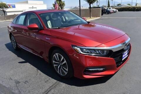 2019 Honda Accord Hybrid for sale at DIAMOND VALLEY HONDA in Hemet CA