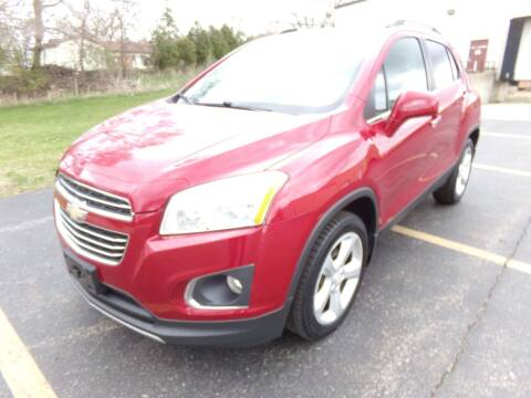 2015 Chevrolet Trax for sale at Rose Auto Sales & Motorsports Inc in McHenry IL