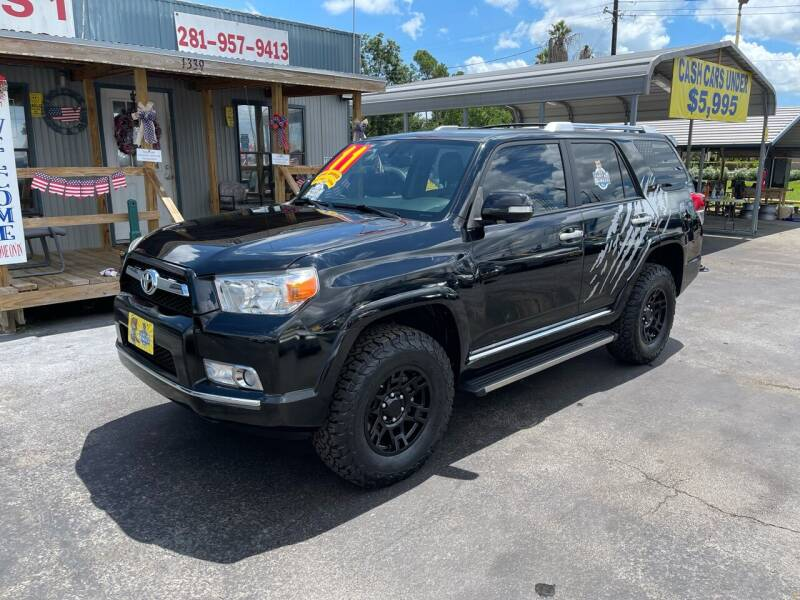 2011 Toyota 4Runner for sale at Texas 1 Auto Finance in Kemah TX