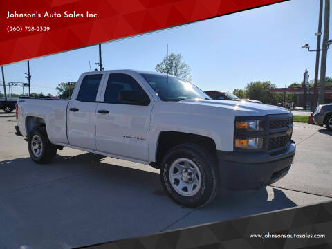 2015 Chevrolet Silverado 1500 for sale at Johnson's Auto Sales Inc. in Decatur IN