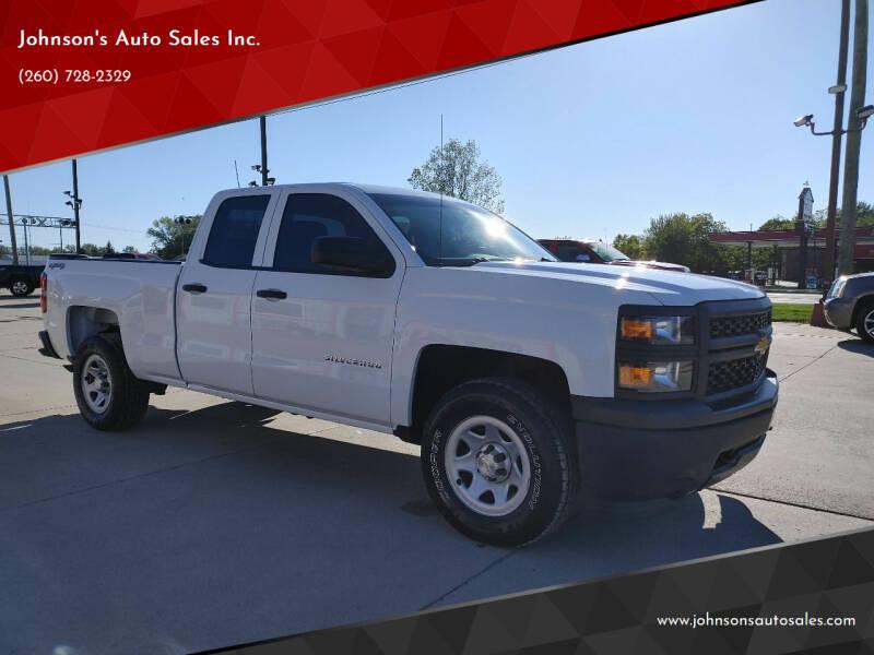 2015 Chevrolet Silverado 1500 for sale at Johnson's Auto Sales Inc. in Decatur IN