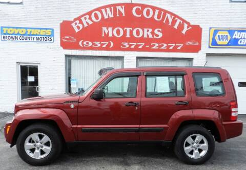 2012 Jeep Liberty for sale at Brown County Motors in Russellville OH