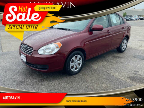 2010 Hyundai Accent for sale at AUTOSAVIN in Elmhurst IL