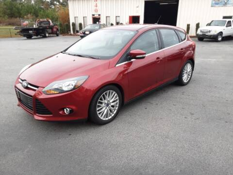 2014 Ford Focus for sale at Mathews Used Cars, Inc. in Crawford GA