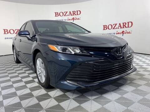 2018 Toyota Camry for sale at BOZARD FORD in Saint Augustine FL