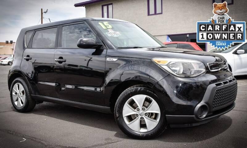 2015 Kia Soul for sale at Rahimi Automotive Group in Yuma AZ