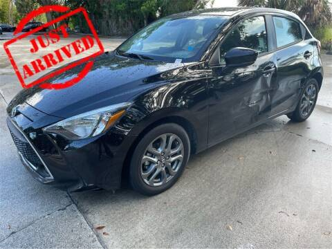 2020 Toyota Yaris Hatchback for sale at Florida Fine Cars - West Palm Beach in West Palm Beach FL