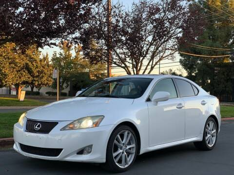 2007 Lexus IS 350 for sale at AutoAffari LLC in Sacramento CA