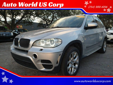 2012 BMW X5 for sale at Auto World US Corp in Plantation FL