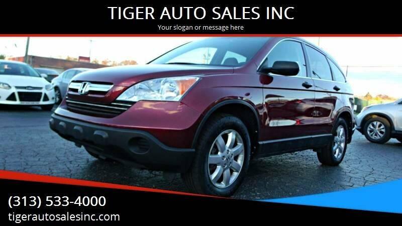 2009 Honda CR-V for sale at TIGER AUTO SALES INC in Redford MI