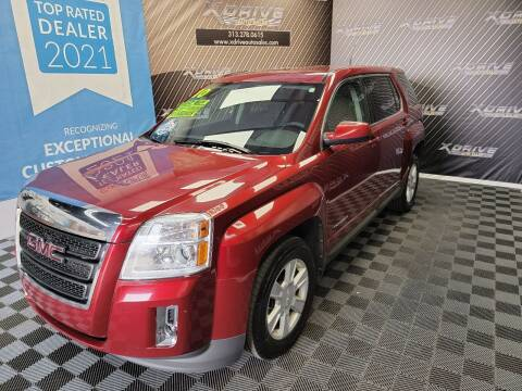 2010 GMC Terrain for sale at X Drive Auto Sales Inc. in Dearborn Heights MI