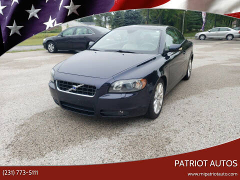 2007 Volvo C70 for sale at Patriot Autos in Muskegon MI