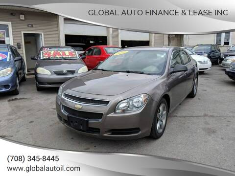 2010 Chevrolet Malibu for sale at Global Auto Finance & Lease INC in Maywood IL