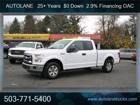 2017 Ford F-150 for sale at Auto Lane in Portland OR