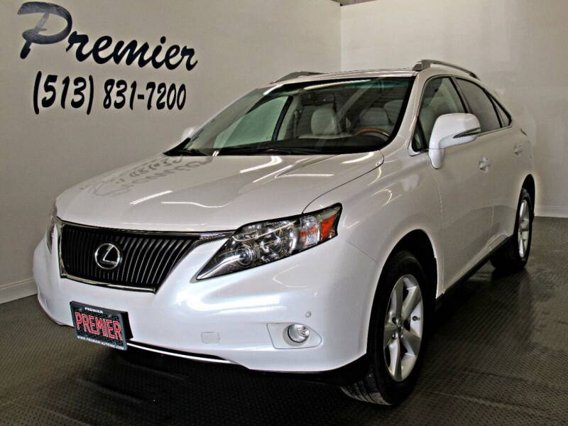 2011 Lexus RX 350 for sale at Premier Automotive Group in Milford OH