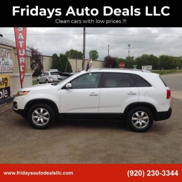 2011 Kia Sorento for sale at Fridays Auto Deals LLC in Oshkosh WI
