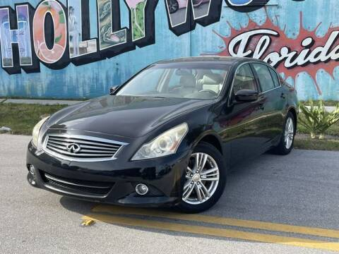 2011 Infiniti G25 Sedan for sale at Palermo Motors in Hollywood FL