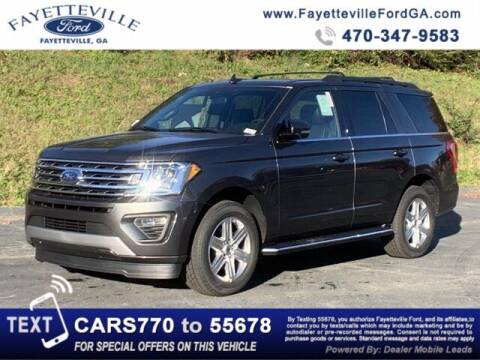 2020 Ford Expedition for sale at FAYETTEVILLEFORDFLEETSALES.COM in Fayetteville GA