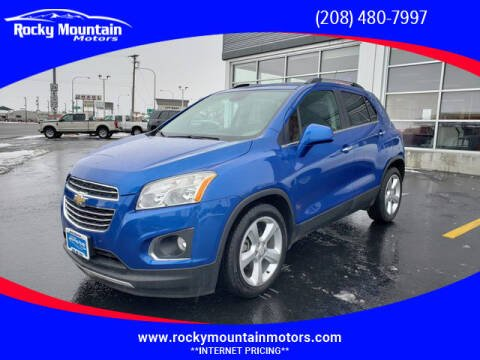 2016 Chevrolet Trax for sale at Rocky Mountain Motors in Idaho Falls ID