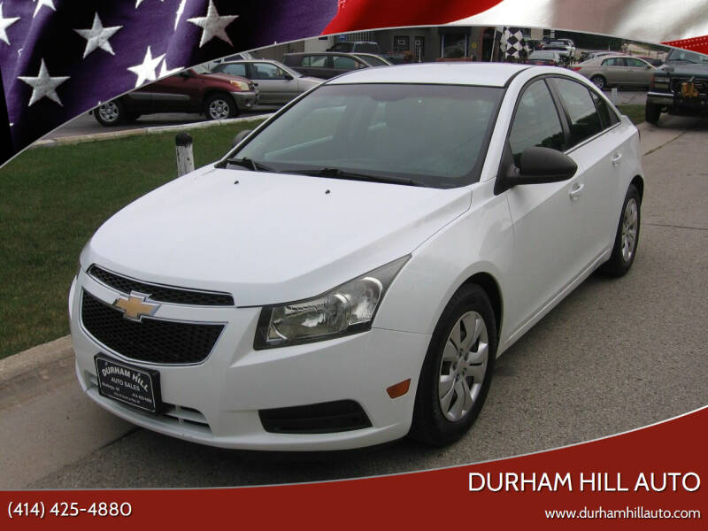 2012 Chevrolet Cruze for sale at Durham Hill Auto in Muskego WI