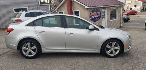 2014 Chevrolet Cruze for sale at Auto Pro Auto Sales-797 Sabattus St. in Lewiston ME