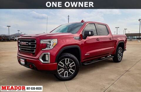 2019 GMC Sierra 1500 for sale at Meador Dodge Chrysler Jeep RAM in Fort Worth TX