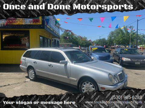 1998 Mercedes-Benz E-Class for sale at Once and Done Motorsports in Chico CA