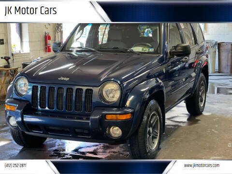 2004 Jeep Liberty for sale at JK Motor Cars in Pittsburgh PA