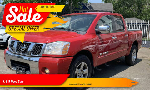 2005 Nissan Titan for sale at A & R Used Cars in Clayton NJ