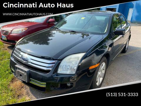 2009 Ford Fusion for sale at Cincinnati Auto Haus in Cincinnati OH