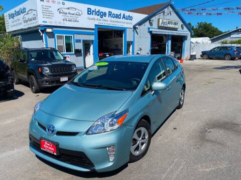 2015 Toyota Prius for sale at Bridge Road Auto in Salisbury MA