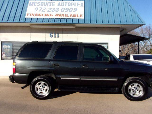 2005 Chevrolet Tahoe for sale at MESQUITE AUTOPLEX in Mesquite TX