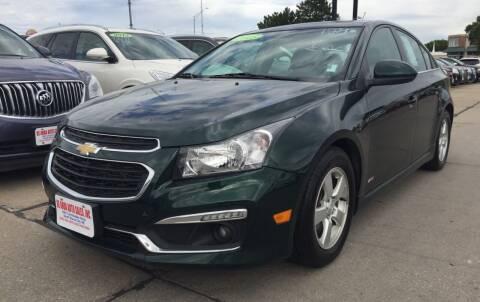 2015 Chevrolet Cruze for sale at De Anda Auto Sales in South Sioux City NE