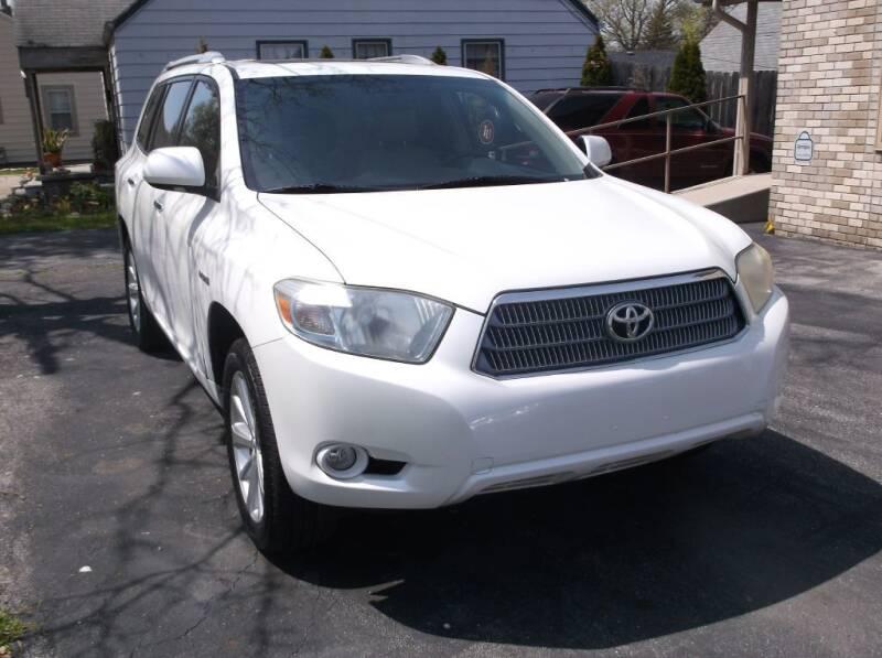 2008 Toyota Highlander Hybrid for sale at Straight Line Motors LLC in Fort Wayne IN
