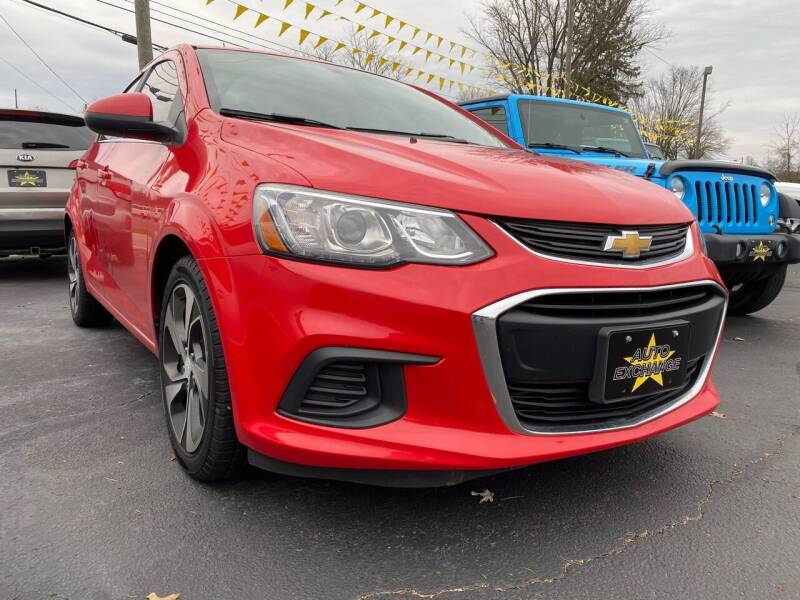 2017 Chevrolet Sonic for sale at Auto Exchange in The Plains OH