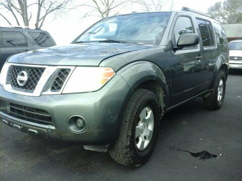 2009 Nissan Pathfinder for sale at John 3:16 Motors in San Antonio TX
