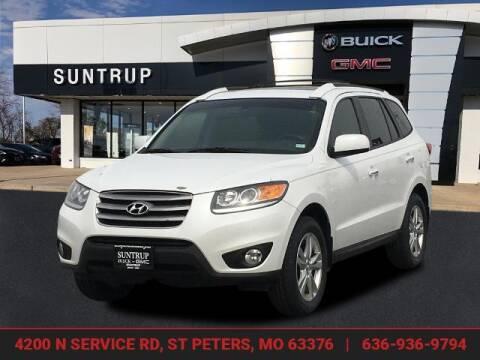 2012 Hyundai Santa Fe for sale at SUNTRUP BUICK GMC in Saint Peters MO