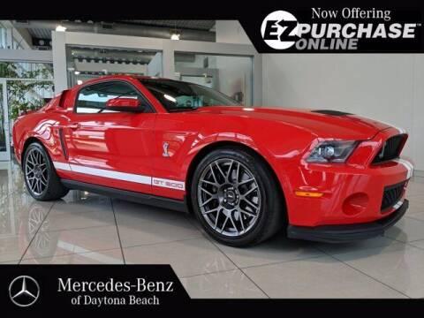 2011 Ford Shelby GT500 for sale at Mercedes-Benz of Daytona Beach in Daytona Beach FL