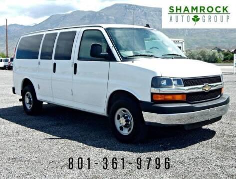 2013 Chevrolet Express Passenger for sale at Shamrock Group LLC #1 in Pleasant Grove UT