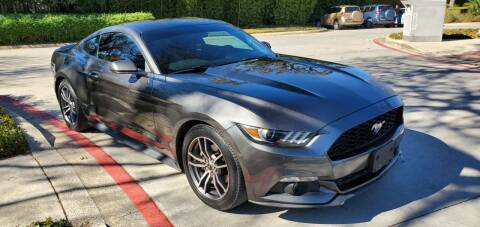 2017 Ford Mustang for sale at Motorcars Group Management - Bud Johnson Motor Co in San Antonio TX