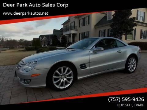 2007 Mercedes-Benz SL-Class for sale at Deer Park Auto Sales Corp in Newport News VA
