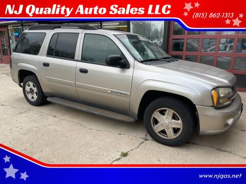 2003 Chevrolet TrailBlazer for sale at NJ Quality Auto Sales LLC in Richmond IL