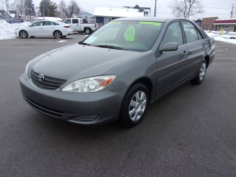 2003 Toyota Camry for sale at Ideal Auto Sales, Inc. in Waukesha WI