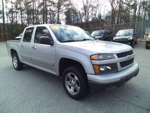 2012 Chevrolet Colorado for sale at Import Plus Auto Sales in Norcross GA