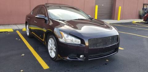 2010 Nissan Maxima for sale at U.S. Auto Group in Chicago IL