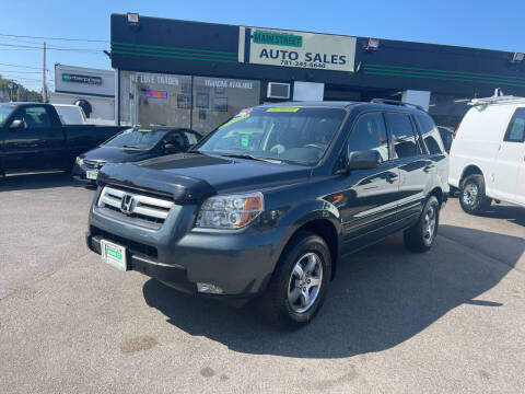 2006 Honda Pilot for sale at Wakefield Auto Sales of Main Street Inc. in Wakefield MA