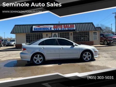 2005 Mazda MAZDA6 for sale at Seminole Auto Sales in Seminole OK