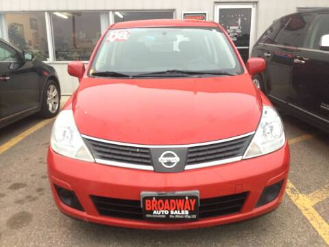 2008 Nissan Versa for sale at Broadway Auto Sales in South Sioux City NE