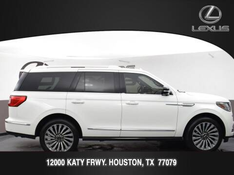 2020 Lincoln Navigator for sale at LEXUS in Houston TX